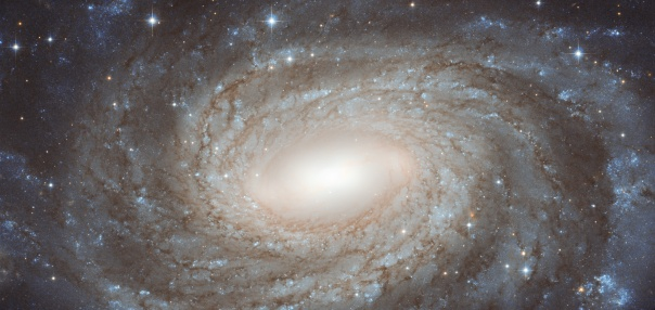 Spiral galaxy NGC 6384, photographed by the Hubble Space Telescope
