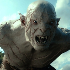 Azog, a very angry Orc.