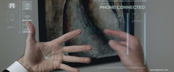 Screenshot of Meta smartglasses promo